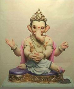 Ganesh Indian Gods, Indian Art, Ganesh Jayanti, Ganpati Bappa Wallpapers, Ganesh Idol, Ganesha Art, Lord Ganesha Paintings, Sri Ganesh, Ganesh Wallpaper