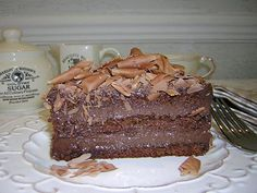 Sobremesas Chocolates, Chiffon Cake, Pie Recipes, Coco, Tiramisu, Food And Drink, Sugar, Cooking, Ethnic Recipes