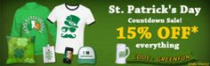 http://www.listfree.org/145001-snapmade-release-the-st-patricks-day-new-design-for-custom-goods.html The annual St. Patrick's Day is coming again, Every year on March 17, the Irish and the Irish-at-heart across the globe observe St. Patrick's Day. What began as a religious feast day for the patron saint of Ireland has become an international festival celebrating Irish culture with parades, dancing, special foods and a whole lot of green.