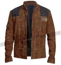 Find UGFashions Han Solo A Star Wars Story Costume Light Brown Suede Leather Jacket online. Shop the latest collection of UGFashions Han Solo A Star Wars Story Costume Light Brown Suede Leather Jacket from the popular stores - all in one Suede Leather Jacket, Real Leather, Han Solo Jacket, Rafael Miller, Leather Jackets Online, Star Wars Han Solo, Brown Jacket, Cotton Jacket, Facon