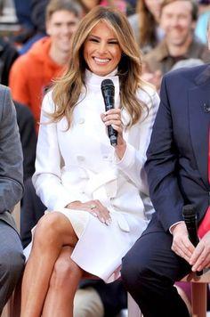 Melania Trump. Gorgeous smile