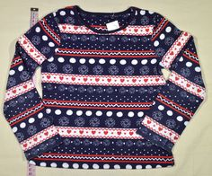 790 Ft.    Pulóver - kék-fehér-piros mintás (George) Lany, Christmas Sweaters, Georgia, Fashion, Moda, La Mode, Christmas Jumper Dress, Christmas Jumpers, Fasion