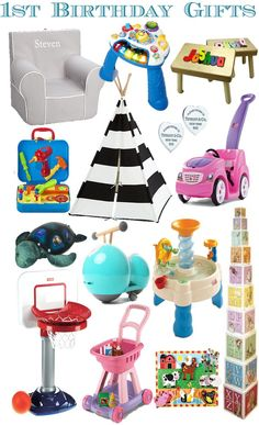 Babys First Birthday Gifts Christmas Toddler 1st