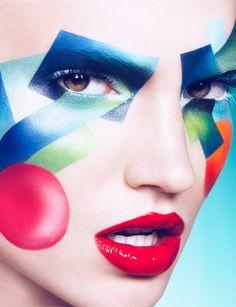 Art - Loni Baur MakeUp #fantasy #editorial #makeup #inspitration