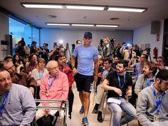 Rafael Nadal arrives in Argentina