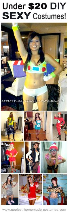 Top 10 DIY Halloween Sexy Costumes for under $20