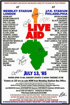 Live Aid 1985 Roots