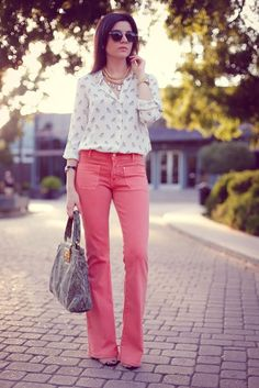 Fantastic outfit with cameo necklace.