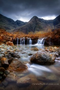 Photo Fairy Pools. Glen Brittle. Isle of Skye. Scotland. by Barbara Jones on 500px