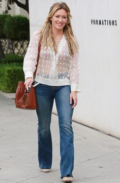 Hilary Duff Running errands