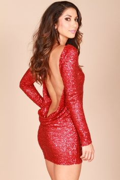 a436f581bb Reve Boutique - Red Open Back Dress - Leiluna Collection Bare Back Dress