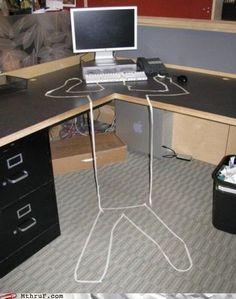 Elegant Subtle Office Pranks