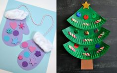32 julpyssel för barn Christmas Cooking, Christmas Art, Christmas Decorations, Christmas Ornaments, Holiday Crafts, Holiday Decor, Holidays With Kids, Cute Drawings, Crafts For Kids