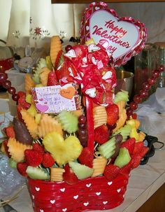 valentines day candy arrangements |  arrangements® fruit, Ideas