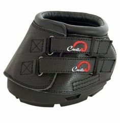 Cavallo Simple Hoof Boots 0 Black by Cavallo. $125.99. Cavallo(R) Simple Boots are lightweight and have built-in drainage. Easy to put on and remove and stay securely on the hoof. Shaped for the natural hoof (needs no inserts or shims) and has simple front fastening with industrial grade Velcro(R) closures. They are made to absorb shock so your horse's legs don't need to! The genuine leather upper is comfortable and flexible with mold-in back flap for bulb protection and a...