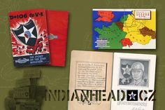 INDIANHEAD.CZ IM70003 WWII US ARMY 2ID BOOKLET D+106 TO V-E NAMED BY WILLIAM H. SCHIRMER
