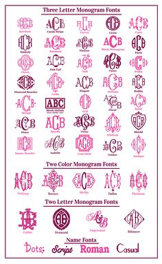 Monogram Fonts                                                                                                                                                                                 More