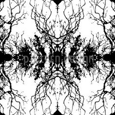 Hochqualitative Vektor-Muster auf patterndesigns.com - Filigranes-Astmuster, designed by Matthias Hennig  #pattern #patterndesign #muster #design #hennig #matthias #vector