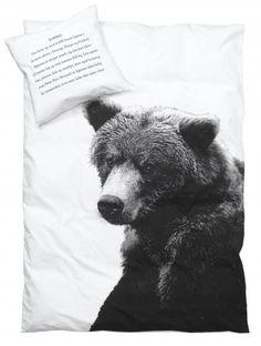 By Nord - By Nord sengetøj - Standardstr. 140x200 - Brun bjørn