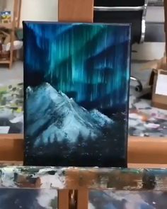 Diy Art Painting, Painting Art Lesson, Small Canvas Art, Nature Art Painting, Painting, Amazing Art Painting, Diy Canvas Art Painting, Creative Painting, Canvas Painting Tutorials