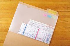 日々たまる領収書や明細書などの〈紙もの〉をすっきり整理するファイリング術を大公開!