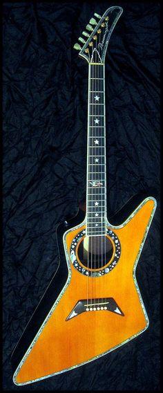 "Boris Dommenget -""X"" acoustic Guitar --- https://www.pinterest.com/lardyfatboy/"