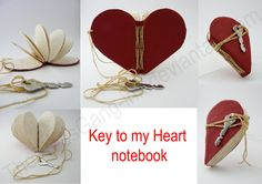 Key to my Heart notebook by ~ThePressGang-ink on deviantART
