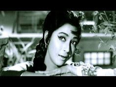 Neend Kabhi Rehti Thi - Lata Mangeshkar, Mala Sinha, Aasra Song - YouTube