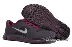 sports shoes 95c7c 4ca2c Women Nike Free 4.0 V2 Running Shoes Dark Grey Purple Red TopDeals, Price    66.25 - Adidas Shoes,Adidas Nmd,Superstar,Originals