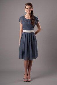 Modest Bridesmaid Dresses : BDS 1401