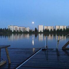 #KesänSauna #OulunSauna (#saunalautta #yleinensauna #publicsauna #sauna #Tuira #oulu )