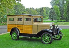 1931 Ford Model A Woody Station Wagon...Re-pin Brought to you by #houseofInsurance Eugene, Or.