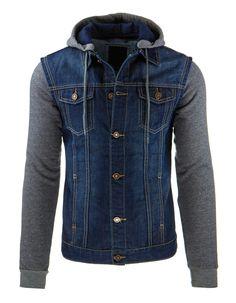 Kurtka męska jeansowa (tx1257) - Dstreet.pl