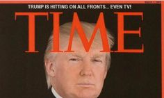 Time Calls Out Trump's Fake News And Asks Him To Remove Bogus Covers From Golf Clubs -- seriously, what a loser.
