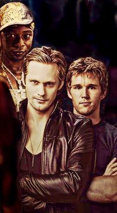 True Blood - Lafayette, Eric and Jason