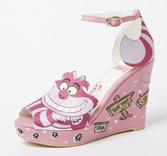 d387383756 Japanese shoemaker RANDA is teaming up with Disney to produce designs based  on the classic Alice in Wonderland animated movie. The shoes range from to  and ...