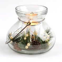 Glass Pine-Love this, simple and elegant. I think I could make it.