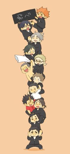 Haikyuu! This picture is so funny C: