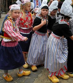 Dutch traditional costume..