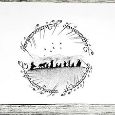 The Hobbit Ink Illustrations with a Meaning. Click the image, for more art by Mandy Razik. Tolkien Tattoo, Tatouage Tolkien, Hobbit Tattoo, Lotr Tattoo, Jrr Tolkien, Feather Tattoo Design, Owl Tattoo Design, Feather Tattoos, Flower Tattoo Designs