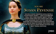 Step into the wardrobe and find your Narnian alter ego. Which character of Narnia are you?