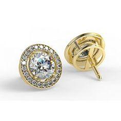 Les boucles d'oreilles diamants NASTIA sont composées d'un diamant central monté sur griffes et d'un entourage diamant sertis en grains. Ces boucles d'oreilles sont discrètes, classieuses et agréables à porter… Et bien sur toujours au prix le plus compétitif du marché !