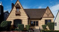 Painted with Sherwin Williams paint. - The tan color warms the exterior of this home! - To see our full portfolio, click here: http://assurantexteriors.com/gallery/
