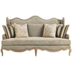 Caracole Curve Your Enthusiasm Sofa UPH-SOFCAV-10A