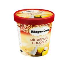 Häagen-Dazs Pineapple Coconut Ice Cream