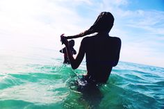 Swimming in the Sea   Summah!