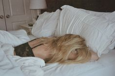 """""""Wake me up when there's a boy with a bun at the end of my bed"""" ♡"""