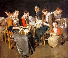 Giacomo Ceruti, Women Working On Pillow Lace