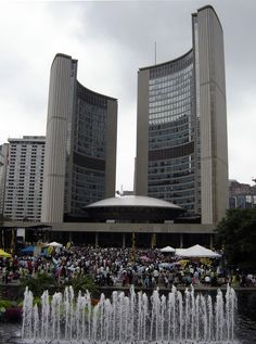 Nathan Phillips Square - Toronto, ON Canada