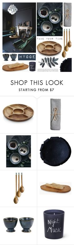 """""""HYGGE"""" by tiziana-melera ❤ liked on Polyvore featuring interior, interiors, interior design, home, home decor, interior decorating, Crate and Barrel, Jamie Oliver, NOVICA and Bella Freud"""